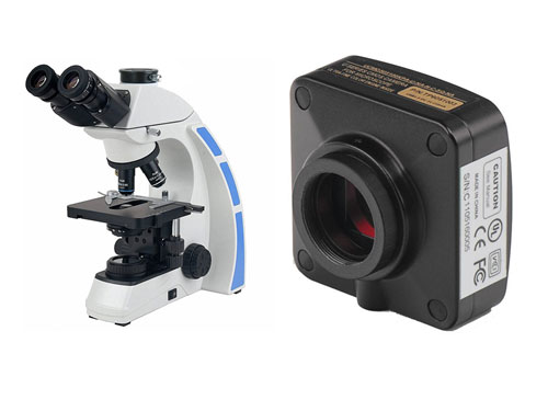 Trinocular Biological Microscope